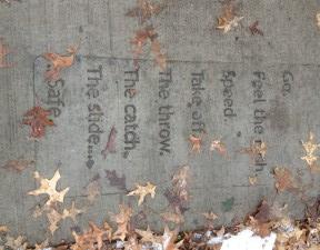 St. Paul sidewalk poem